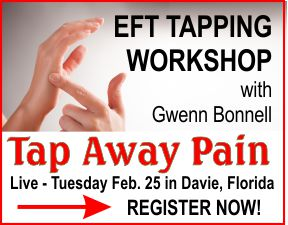 Register for the Tap Away Pain EFT Workshop